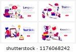 online education courses banner ... | Shutterstock .eps vector #1176068242