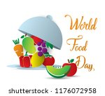 world food day food day... | Shutterstock .eps vector #1176072958