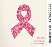 breast cancer awareness month... | Shutterstock .eps vector #1176073222