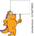 cartoon illustration of a... | Shutterstock . vector #1176073855