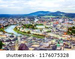 scenic view opening from... | Shutterstock . vector #1176075328