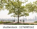 new york city midtown manhattan ...   Shutterstock . vector #1176085162