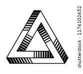 sacred geometry. penrose... | Shutterstock .eps vector #1176102652