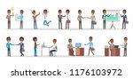 business people set. african...   Shutterstock .eps vector #1176103972