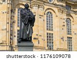 martin luther memorial statue... | Shutterstock . vector #1176109078