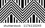 seamless pattern with striped... | Shutterstock .eps vector #1176110245