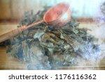 russian sauna broom   sauna... | Shutterstock . vector #1176116362