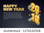 2019 happy new year background | Shutterstock .eps vector #1176132328