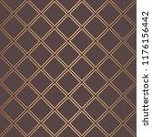 art deco pattern. seamless... | Shutterstock .eps vector #1176156442