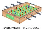 table football game hobby or... | Shutterstock .eps vector #1176177052
