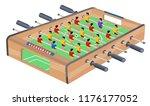 table football game hobby or... | Shutterstock .eps vector #1176177052