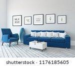 idea of a white scandinavian...   Shutterstock . vector #1176185605