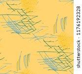 various pencil hatches.... | Shutterstock .eps vector #1176192328