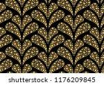 flower geometric pattern.... | Shutterstock .eps vector #1176209845