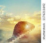 aspire to prestigious roles by... | Shutterstock . vector #1176211642