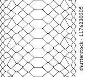 snake skin black and white... | Shutterstock .eps vector #1176230305