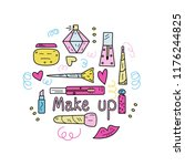 colorful vector illustration of ...   Shutterstock .eps vector #1176244825