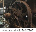 Large Rusty Industrial Metal...
