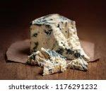 blue cheese gorgonzola on a... | Shutterstock . vector #1176291232