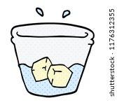 cartoon doodle water and ice | Shutterstock .eps vector #1176312355