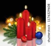 vector realistic still life... | Shutterstock .eps vector #1176329608