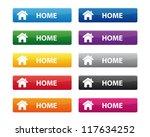 home buttons | Shutterstock .eps vector #117634252