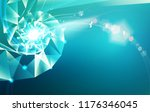 abstract science design with... | Shutterstock .eps vector #1176346045