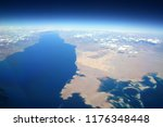 aerial view of the gulf of... | Shutterstock . vector #1176348448