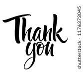 thank you lettering....   Shutterstock .eps vector #1176373045