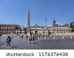 rome  italy   august 8  2016 ... | Shutterstock . vector #1176376438