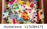 puzzle   educational game   Shutterstock . vector #1176384172
