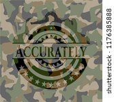 accurately camouflage emblem | Shutterstock .eps vector #1176385888