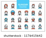 Vector Set Of Users Avatars An...