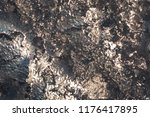 texture of the ice surface with ... | Shutterstock . vector #1176417895