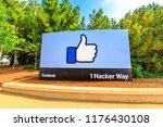 menlo park  california  united... | Shutterstock . vector #1176430108