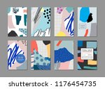 collection of creative... | Shutterstock .eps vector #1176454735