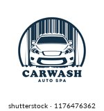 car wash service icon with... | Shutterstock .eps vector #1176476362