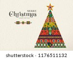 merry christmas and happy new... | Shutterstock .eps vector #1176511132