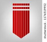 epaulette sign. shoulder mark ... | Shutterstock .eps vector #1176519952