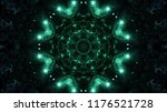 abstract kaleidescopic club...   Shutterstock . vector #1176521728