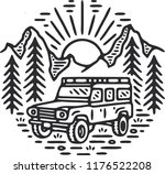 mountain drawing illustration | Shutterstock .eps vector #1176522208