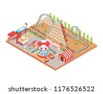 modern isolated circus and...   Shutterstock .eps vector #1176526522