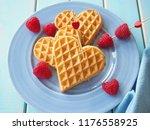 Belgian Waffles In Shape Of...
