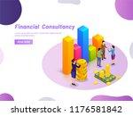 financial consultancy concept ... | Shutterstock .eps vector #1176581842