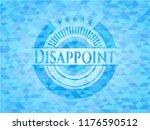 disappoint realistic sky blue...   Shutterstock .eps vector #1176590512