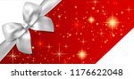 holiday reward card  voucher ... | Shutterstock .eps vector #1176622048