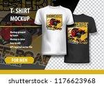 t shirt template  fully...   Shutterstock .eps vector #1176623968