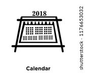 calendar icon vector isolated...
