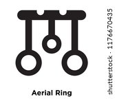 Aerial Ring Icon Vector...