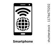 smartphone icon vector isolated ...